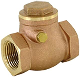 EZ-FLO 0427848 20423LF swing check brass valve, 3/4