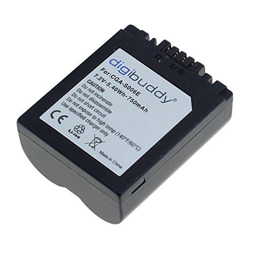 OTB Akku für Panasonic CGR-S006 Li-Ion Schwarz