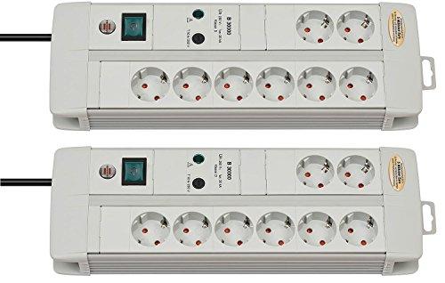 Brennenstuhl 1256550378Premium-Line 30,000a, protección contra sobretensiones y...