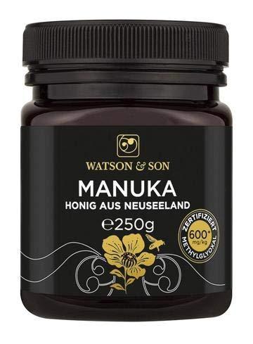 Watson & Son Manuka Honig MGO 600+ 250g | Premium Qualität aus Neuseeland