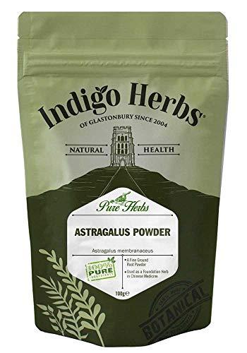 Indigo Herbs Polvere di Astragalo 100g (Astragalus)