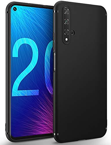 BENNALD Hülle für Honor 20 Hülle, Soft Schutzhülle Hülle Cover - Premium TPU Tasche Handyhülle für Huawei Honor 20 (Schwarz,Black)