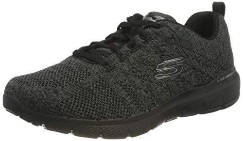 Skechers Damen Flex Appeal 3.0-high Tides Sneaker, Schwarz, 39 EU
