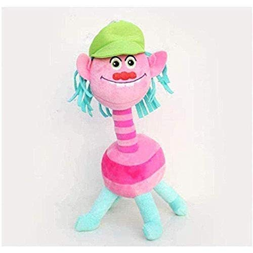 Rsntdk La Mascota del Juguete de Peluche del Troll de la película Linda Troll Branch Menggong Regalo de Peluche Suave para niños de 30 cm