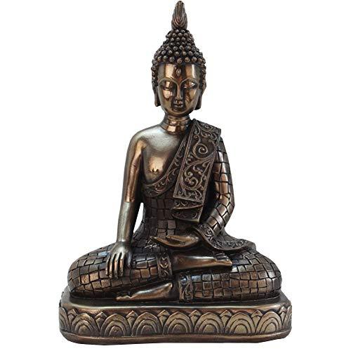 J.Mmiyi Buda Estatua Figura Zen Retro Meditación