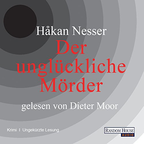 Der unglückliche Mörder audiobook cover art