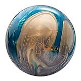 Hammer Raw Bowling Ball- Blue/Silver/White 15lbs