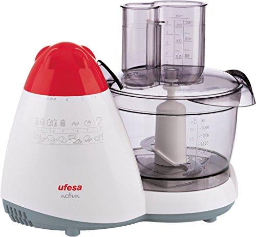 Ufesa PA-5000 Procesador de alimentos, 450 W, Plástico|Acero Inoxidable,...