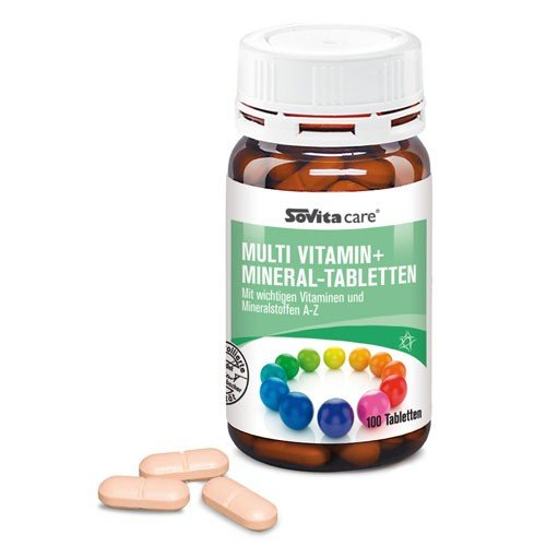 Multi Vitamin + Mineral-Tabletten