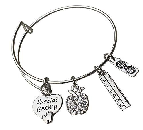 Special Teacher Bracelet, Teacher Jewelry, Special Teacher Gift - Show Your Teacher Appreciation for Women