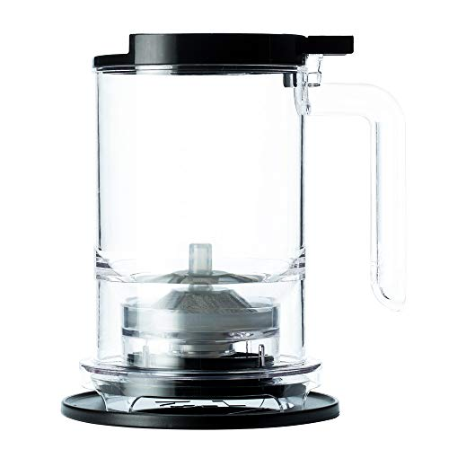 T2 Tea A30000173 - Teamaker with Tea Infuser and BPA-free Plastic, Loose Leaf Tea Maker, Black (500ml/16.9 floz)
