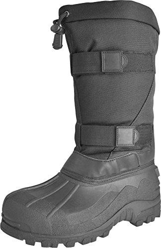 normani Arctic Boots/Stiefel für den Winter/Kälteschutzstiefel/alle Größen 35-48 Farbe Schwarz Größe 35-36
