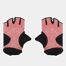 Adidas Half Finger Gloves for Unisex, Multi Color - L
