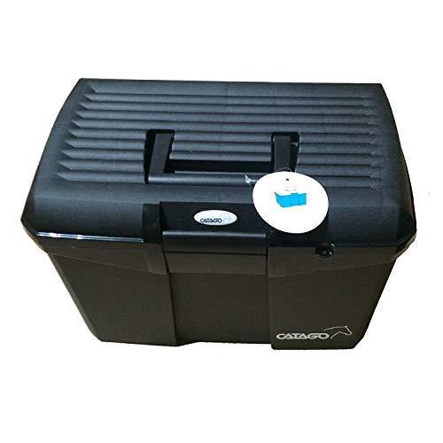 CATAGO Pferde Putzbox mit Zubehör – schwarz - 2