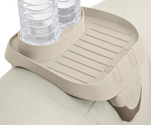 Intex PureSpa - Soporte para tazas (2 recipientes para bebidas de tamaño estándar)