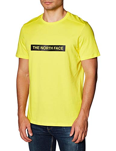 The North Face Men T-Shirt Light, Taille:M, Couleur:TNF Lemon