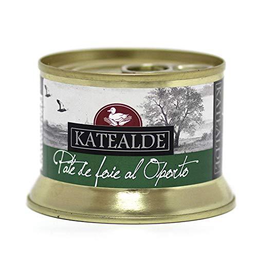Katealde Paté De Foie Al Oporto (35% Foie), 130 g