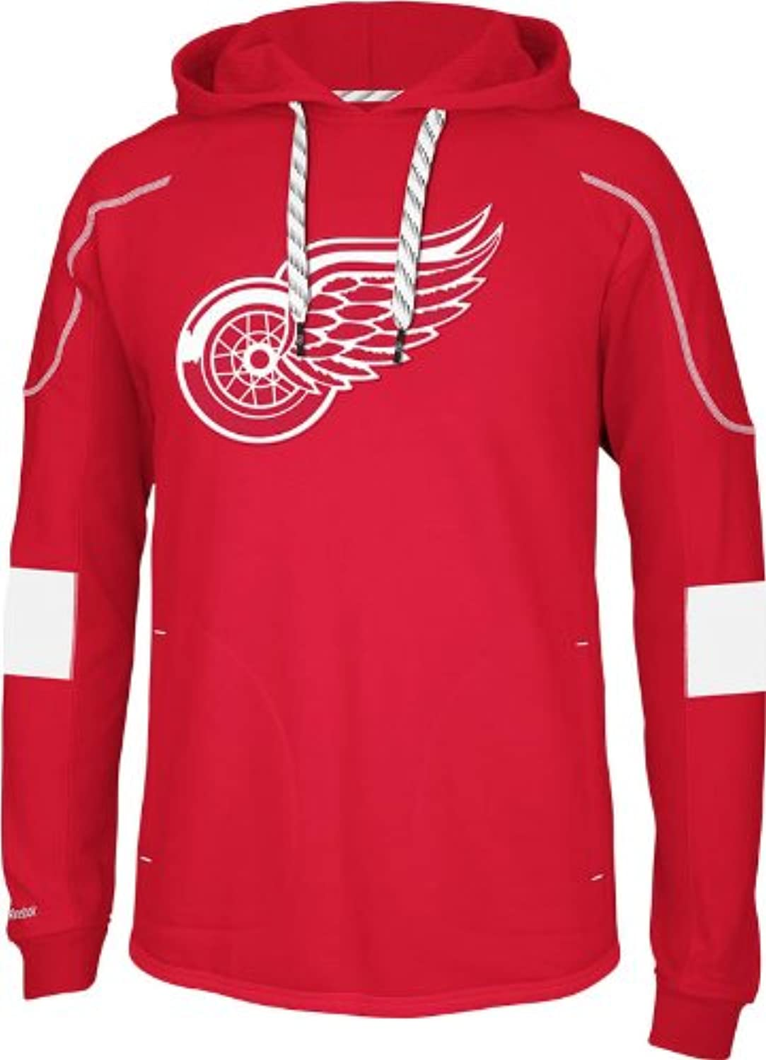 NHL Detroit Red Wings Men's Edge Team Hooded Jersey