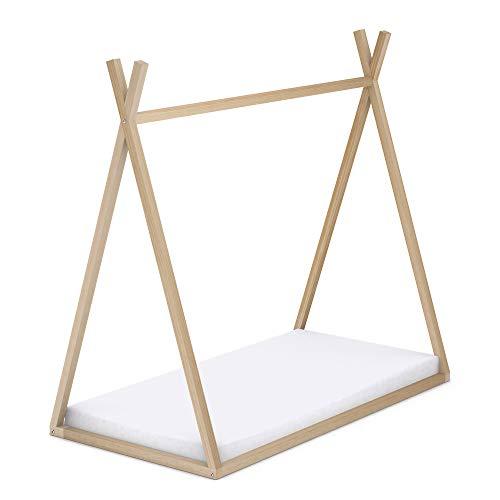 Cama tipi de madera para colchón de 70 x 140 cm