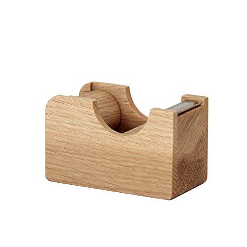 無垢の木の文具 Oak Village(オークヴィレッジ) テープカッター 小 ナチュラル色
