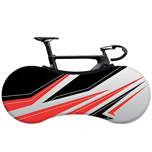YRDDJQ Cubierta de Bicicleta de Carretera MTB Cubierta de Polvo Interior de Tela Elástica Cubierta de Protección de Neumáticos de Bicicleta de 26-28 Pulgadas, E