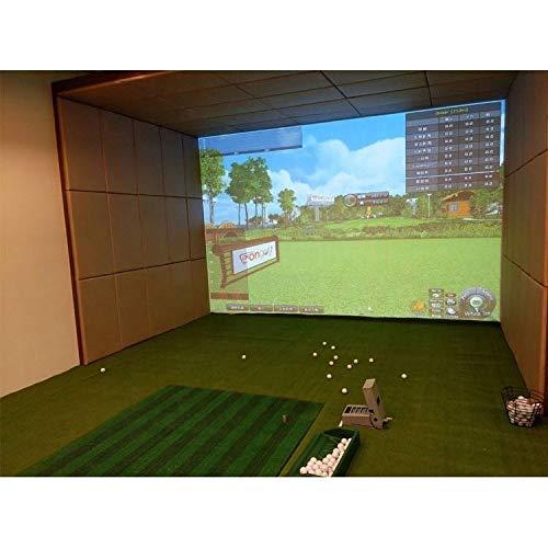 Golf Simulators for Home Indoor 300x200 cm Golf Simulator Impact Screen Golf Training Aid Golf Simulator Screen Impact Golf Simulator Golf Screen Golf Aid Screen Golf at Home Golf Simulator Golf