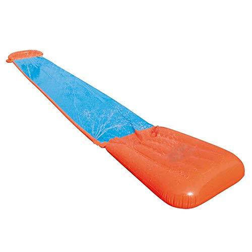 5,4 m Giant Surf 'N dubbele waterglijbaan Opblaasbare glijbaan voor kinderen Zomer Achtertuin Zwembadspellen Buitenspeelgoed