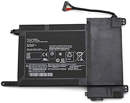 Uniamy Replacement Battery Compatible With Lenovo L14M4P23 L14S4P22 IdeaPad Touch Y700-15ISK Y700-17ISK (80NV, 80Q0) 5B10H22084 [14.8V/4050mAh/60Wh]