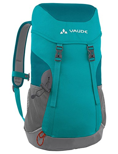 Vaude Unisex - Kids Backpack Puck, 48 x 25 x 18 cm, 14 Liter, Green (green spinel)