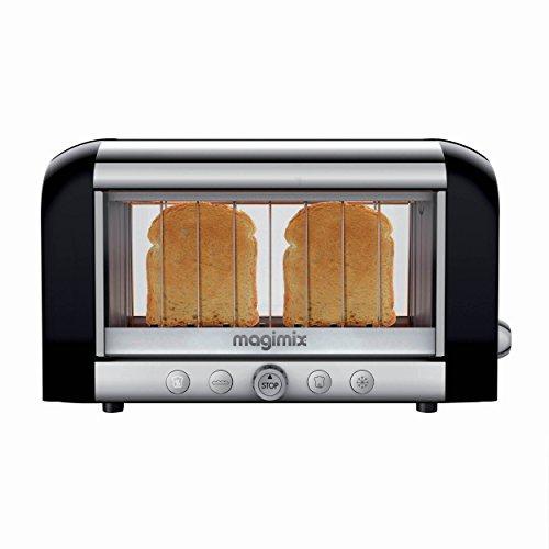 Magimix Toaster Vision Black 1450 Watt Toaster