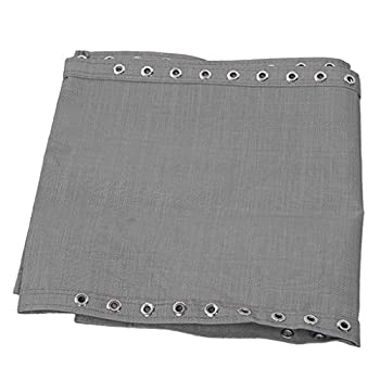 Syhonic Grey Replacement Fabric Cloth for Zero Gravity Chair Patio Lounge Couch Recliners All Standard Sling Chairs 63x17 inch