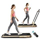 Goplus 2 in 1 Folding Treadmill,...