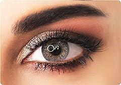 ADORE lentes de contacto de colores color BLANCO natural - CRYSTAL WHITE - Efecto brillante - 90 Días - Sin Graduación + estuche incluido