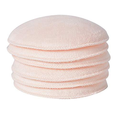6 pcs coussinets d'allaitement, coussinets de soutien-gorge de maternité d'allaitement lavables coussinets d'allaitement absorbants doux pour maman allaitement(Peau)