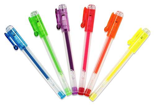 NPW Stylo à encre gel Lot de 6 – parfumée Mini Stylos à encre gel Sketch et couleur