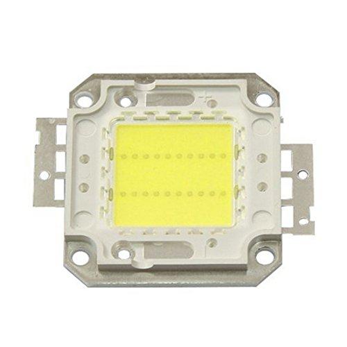 HHF LED Bulbs Lamps, La puissance élevée LED pour le projecteur de projecteur, perles de puce EOB 20W 30W 50W 70W 100W 3000K / 6000K pour le projecteur de projecteur (Couleur : Blanc chaud-50W)
