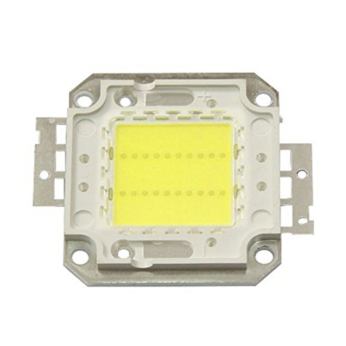 WELSUN Chip LED 20W 30W 50W 70W 100W 3000K / 6000K De La Viruta para El Proyector del Reflector (Color : Cool White, Wattage : 50W)