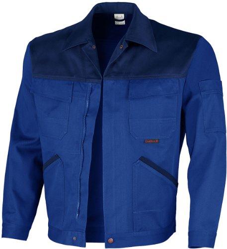 Qualitex Image Bund-Jacke Arbeits-Jacke MG 300 - kornblau/marine - Größe: 50