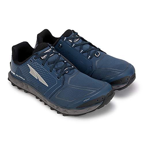 ALTRA Men's AFM1953G Superior 4 Trail Running Shoe, Blue/Gray - 10.5 D(M) US