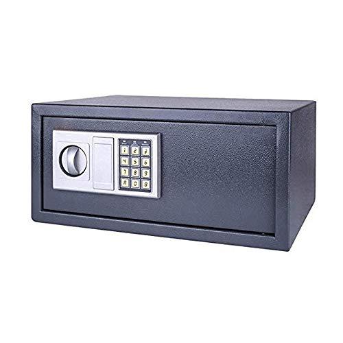 Kaidanwang Caja Fuerte de Casa Caja de Cerradura con Teclado, 1,76 pies cúbicos de Acero Digital Caja de Seguridad de Ministerio del Interior, 33 x 20 x 43 cm, Negro