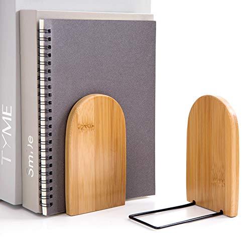 Blusea Bamboe boekenrek, boekensteun, wandplanken, boekenplank, zwemrek voor boek