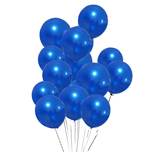 12 Inch Royal Blue Balloons for Party Decoration Graduation Decoration.Latex Balloons 100 pack