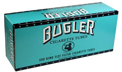 Bugler RYO Cigarette Tubes - King Size 200ct Box (5 Boxes)