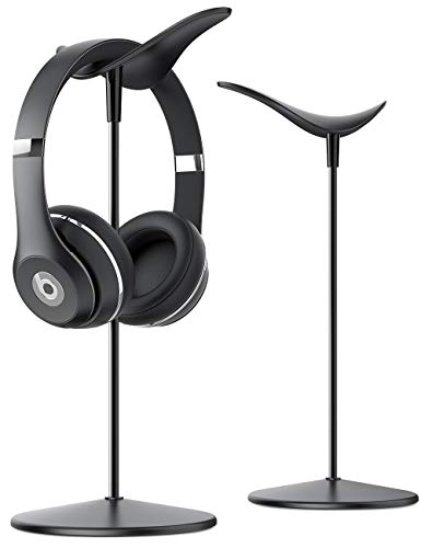 Lamicall Kopfhörer Ständer, Universal Kopfhörer Halter für Over Ear Kopfhörer - Schwarz