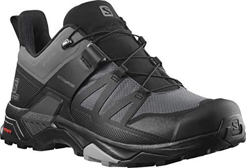 Salomon Men's X Ultra 4 GTX Hiking Shoe, Magnet/Black/Monument, 11.5