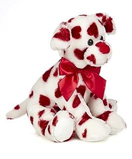 Bearington Romantic Rover Valentines Plush محشوة الحيوان