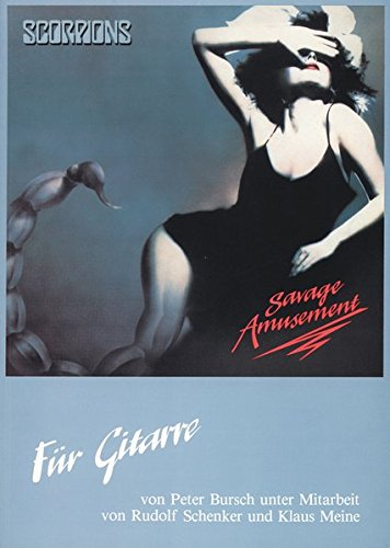 Scorpions - Savage Amusement: Für Gitarre