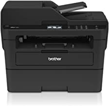 Brother MFCL2730DW - Impresora multifunción láser monocromo con fax, pantalla táctil e impresión dúplex (34 ppm, USB 2.0, Wifi, Ethernet, Wifi Direct, procesador de 600 MHz, memoria de 128 MB) negro