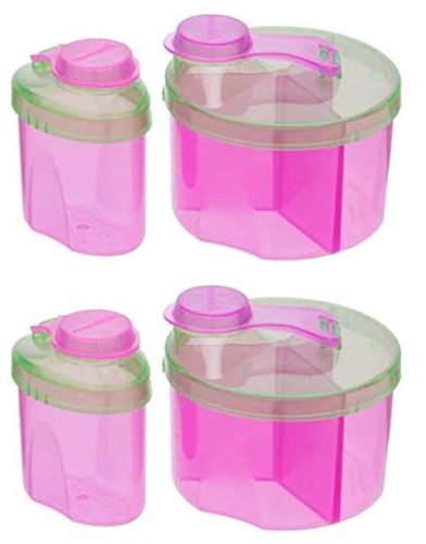 Great Deal! Munchkin Powdered Formula Dispenser Combo Pack, Colors May Vary – 2 Sets