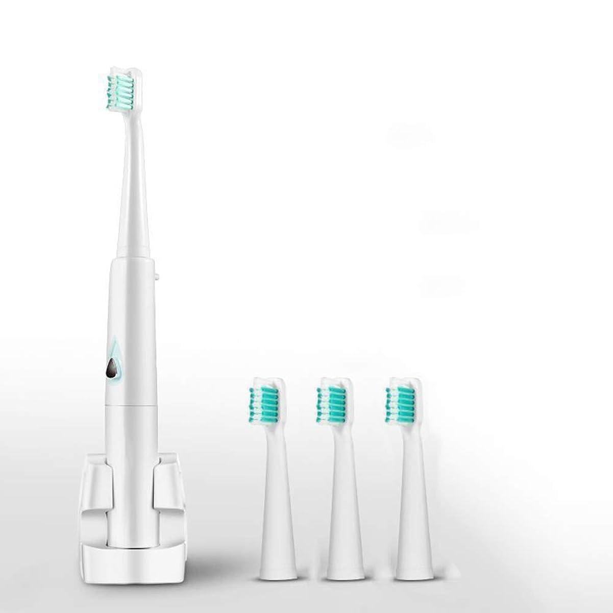天窓肘掛け椅子ギャロップ電動歯ブラシ、音波歯ブラシ、ワイヤレス誘導充電、3つのモード、2分間のインテリジェントタイミング、大人およびティーン向け,グリーン